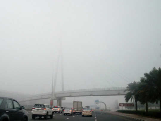 UAE weather: NCM warns of fog over some parts of Abu Dhabi, and chances of rainfall in Fujairah