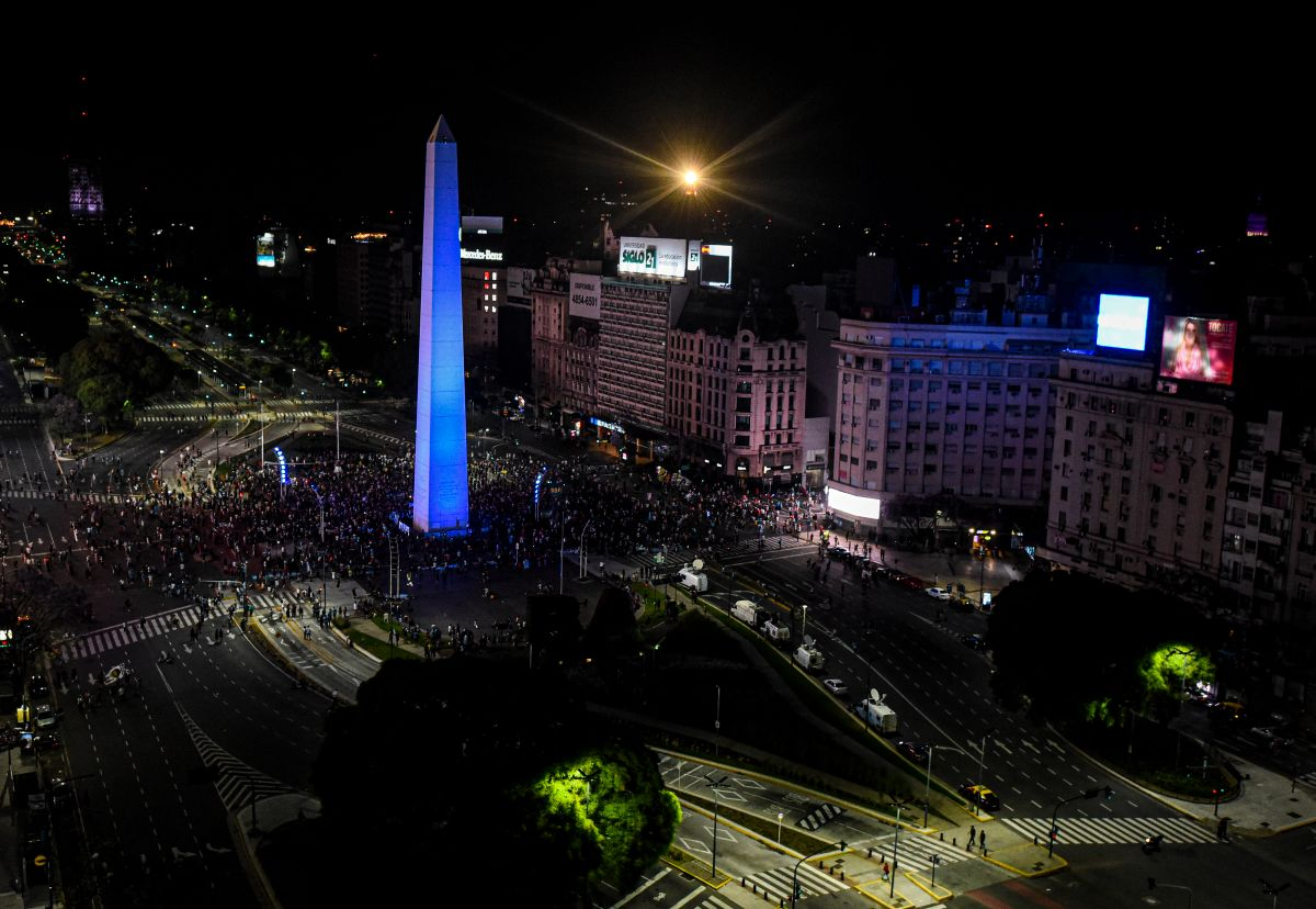 VIDEO: Maradona's remains were followed by an impressive caravan in Buenos Aires | The State