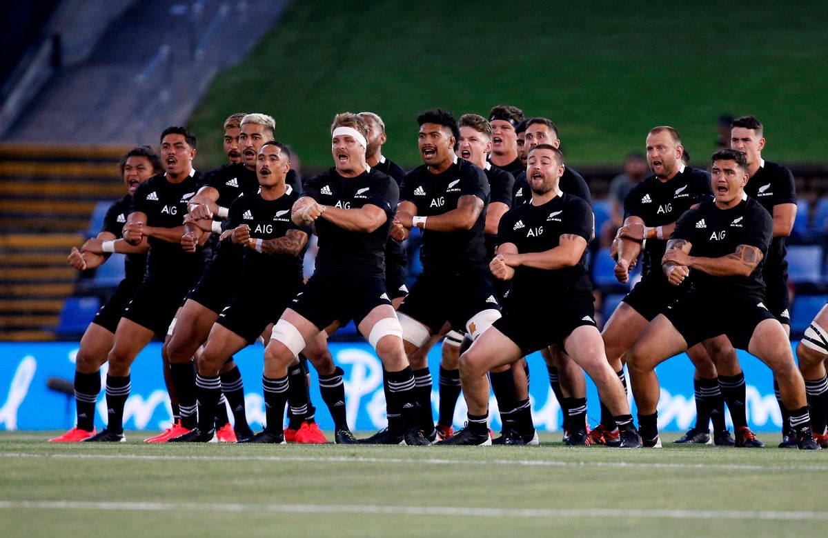VIDEO: The most unique tribute to Maradona was made by the All Blacks, who dedicated the haka to him | The State
