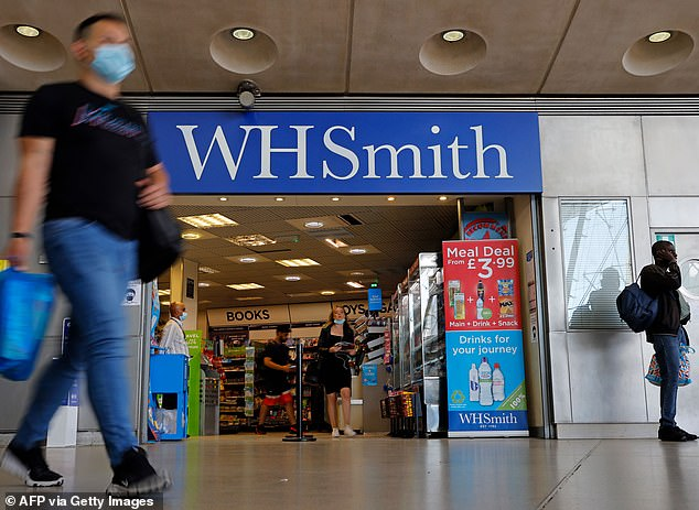 WH Smith suffers £226MILLION pre-tax LOSS in past year