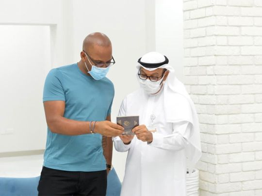 Watch: GDRFA Dubai grants football superstar Didier Drogba gold card residency