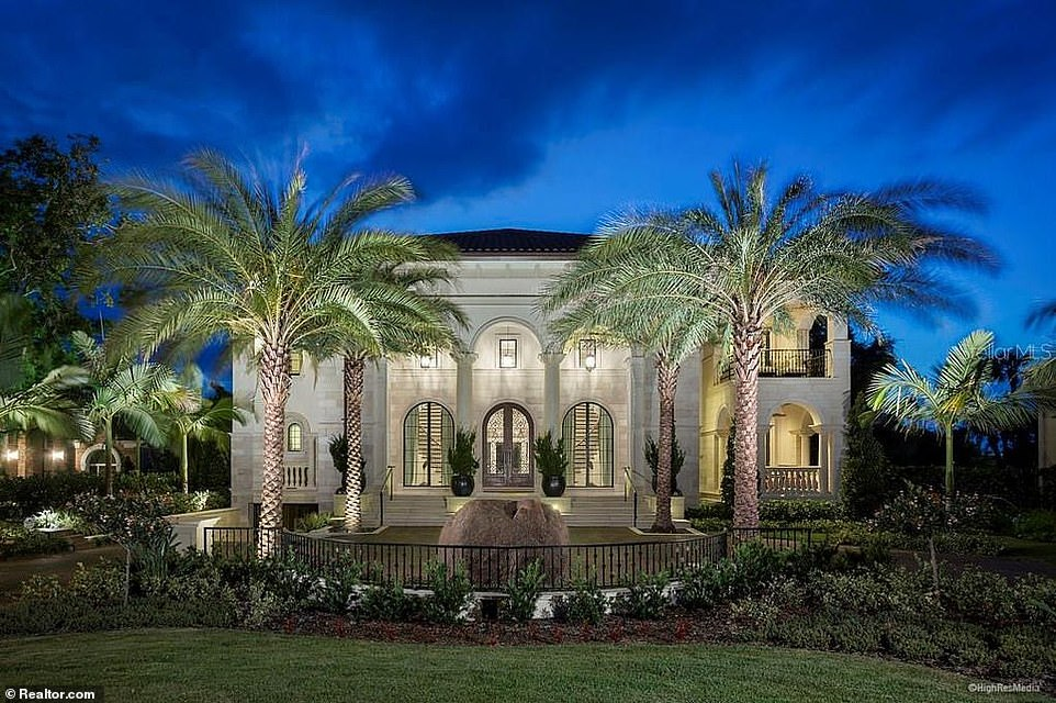 Waterfront Tampa mansion with its own indoor gun range sells for $6.6million