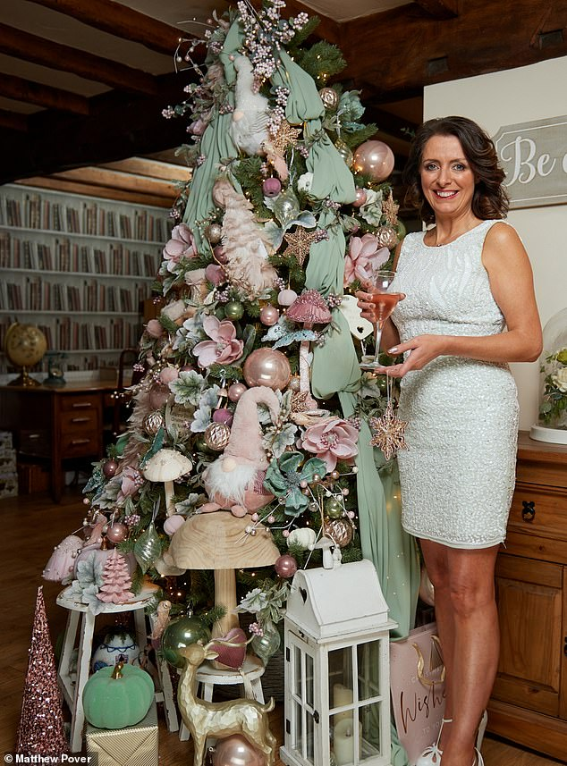 We couldn't wait for the season to be jolly! Trees up in November? Yes, said SADIE NICHOLAS