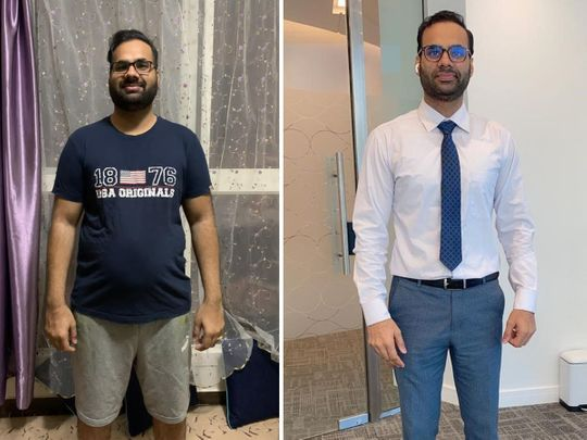 Weight-loss story: Meet Indian expatriate in UAE who lost 29kg in one year