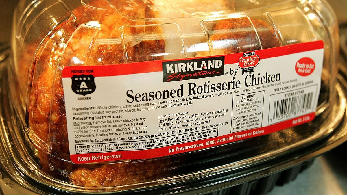 What ingredients does rotisserie chicken have? | The State