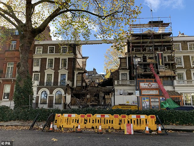 What on earth brought down the £8.5m Chelsea mansion? ANTONIA HOYLE speaks to the family