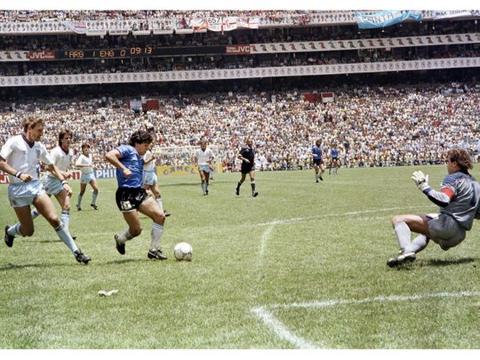 When Diego Maradona broke England's soul, won hearts and the Mexico 86 World Cup