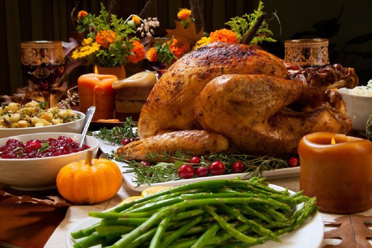 Why do you eat turkey on Thanksgiving?   The State