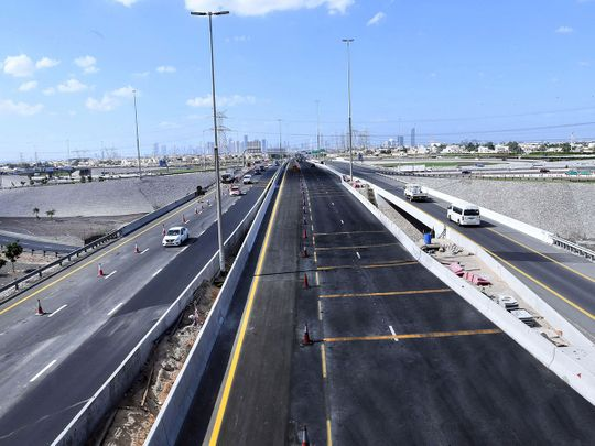 Widened roads at this major intersection in Dubai will open tomorrow