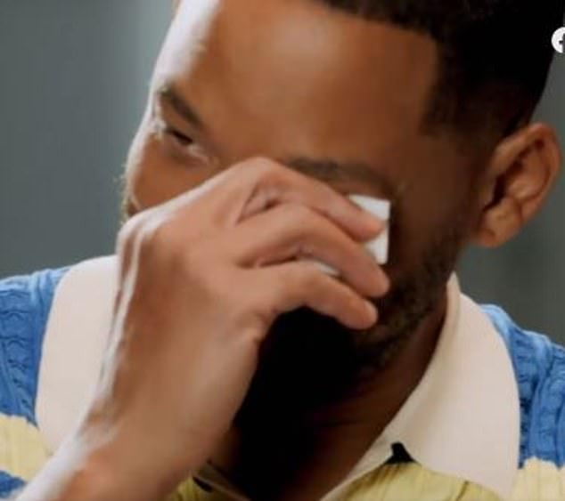 Will Smith cries over Janet Hubert reunion as he breaks it down with psychologist