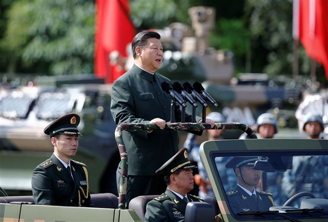 Xi: PLA to be on par with US army by '27