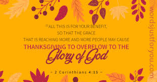 Bible Verses for Thanksgiving – 5553 | Words Just for You! – Free Downloads  and Free Sharing
