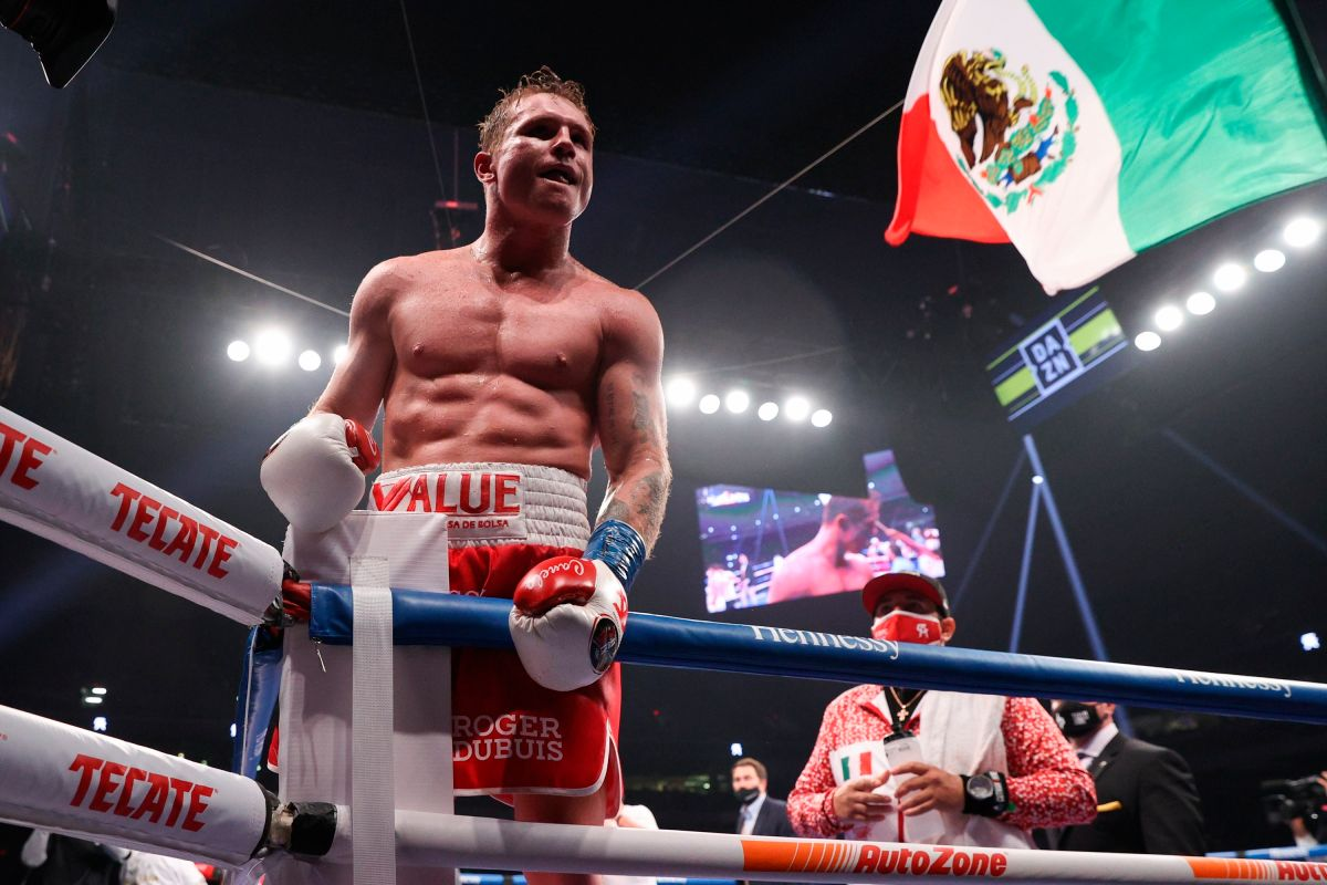 """Canelo"" Álvarez wants to fight again in February and will seek to unify the titles at 168 pounds 
