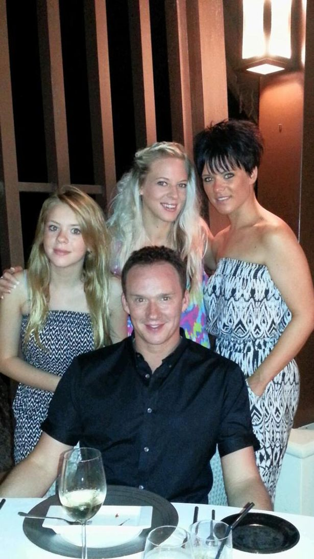 Russell Watson and Family