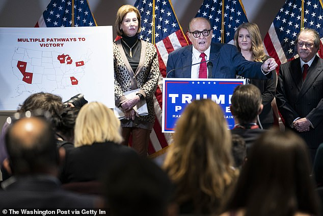 Giuliani revisited allegations at a recent presser at the RNC
