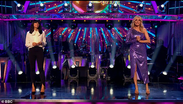 Bring it on! This Saturday's show will be the Musicals Week special (pictured hosts Claudia Winkleman and Tess Day last week)