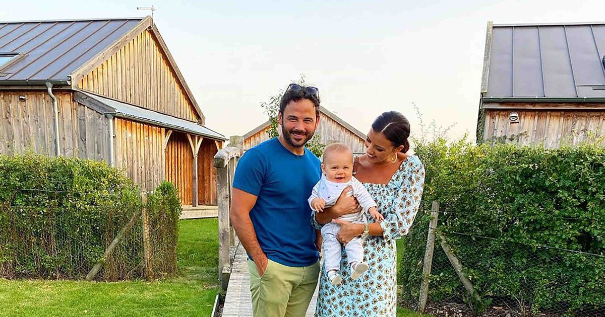 Lucy Mecklenburgh shed four stone using baby Roman as a workout weight