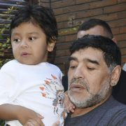 Diego Maradona's heartbreaking final message to stepdad of his youngest son