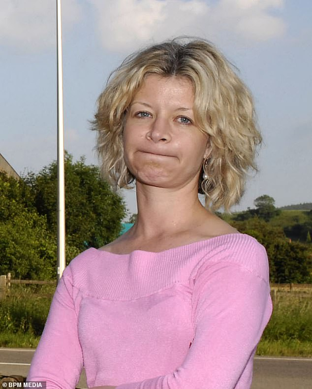 Jemma Cooper, seen here back in 2007, was said to have argued with colleagues over Covid