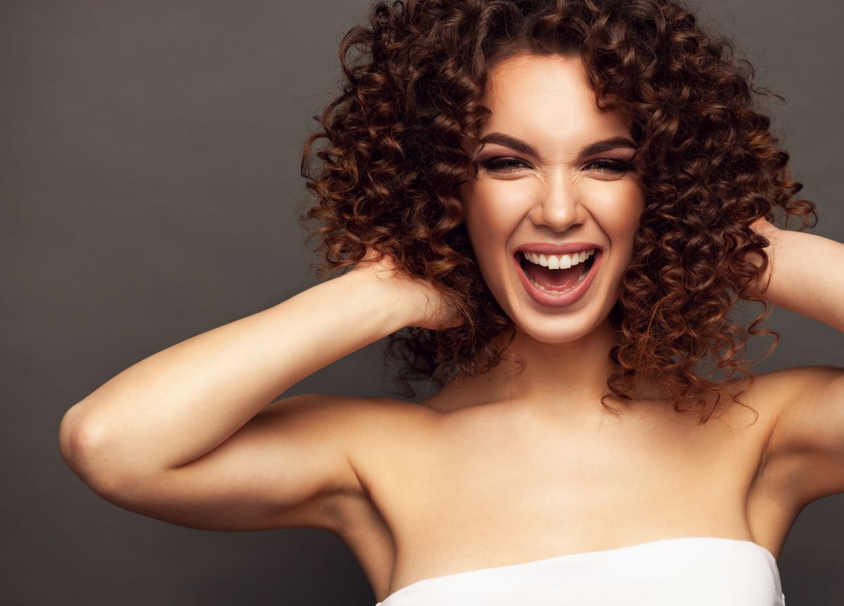 What colors are the most suitable to dye your curly hair during fall   The State