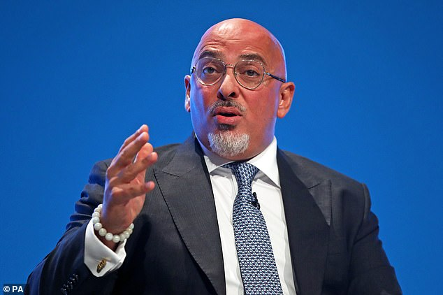 Nadhim Zahawi claimed on Monday that an immunity scheme 'is the way we return the whole country to normal'