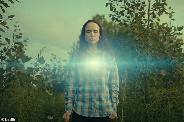 Superpower: The popular Netflix superhero series sees the actor play the role of Vanya Hargreeves, a woman with the ability to harness sound and convert it into energy