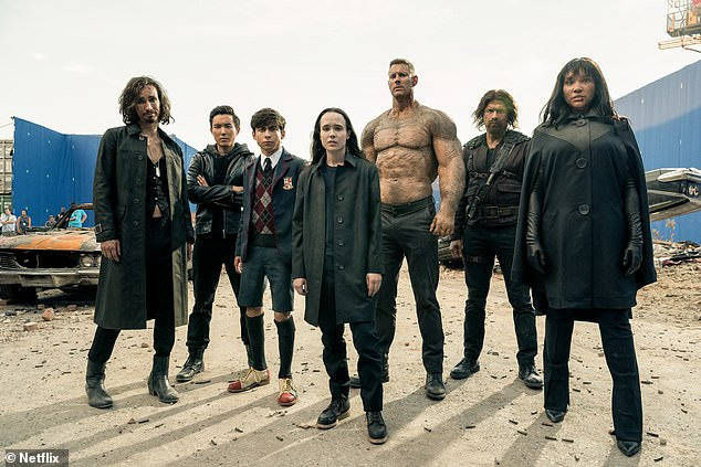 Sci-fi: The Umbrella Academy centers on group of adopted sibling superheroes who team up to solve the mystery of their father's death while warding off a potential apocalypse