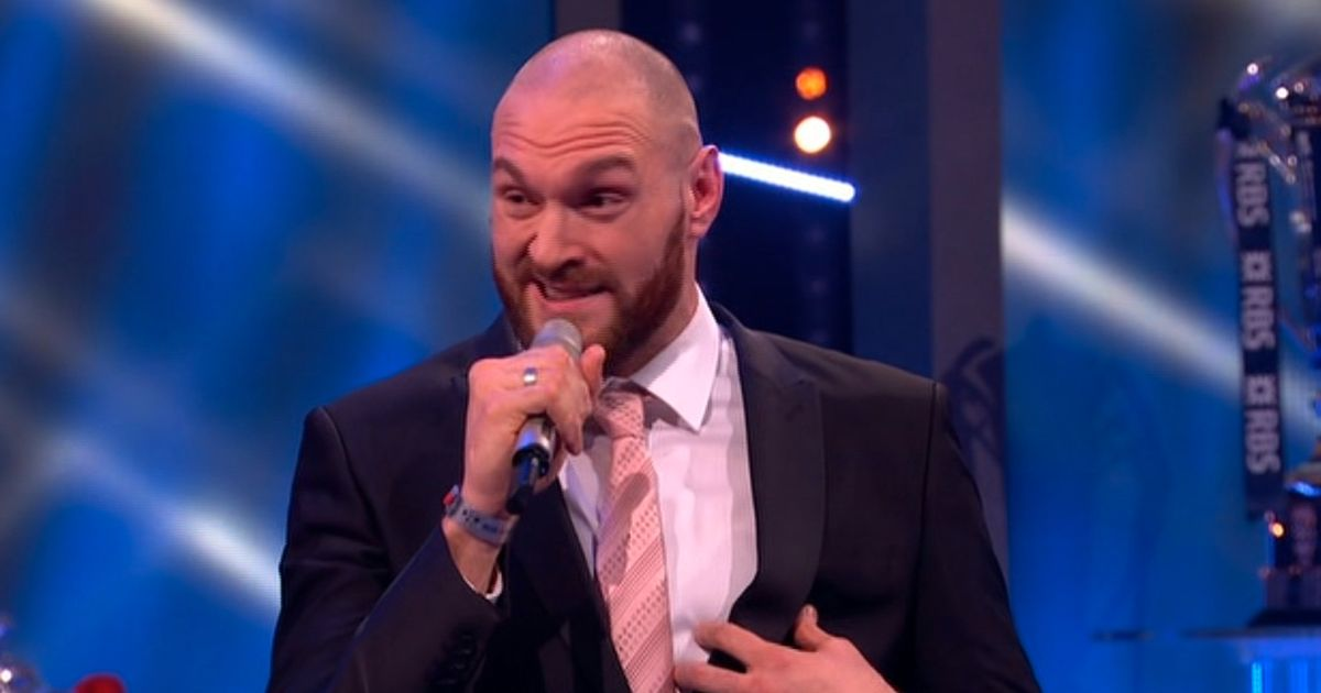 Tyson Fury asks BBC to remove him from Sports Personality of the Year shortlist