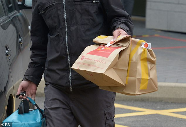 But the Soho bar is preparing to let customers have McDonald's delivered in a bid to get round the rules