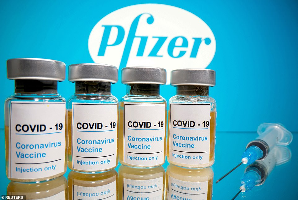 The UK's Medicines and healthcare Products Regulatory Agency (MHRA) said saying the approval of the Pfizer vaccine (pictured) was made using provisions under European law