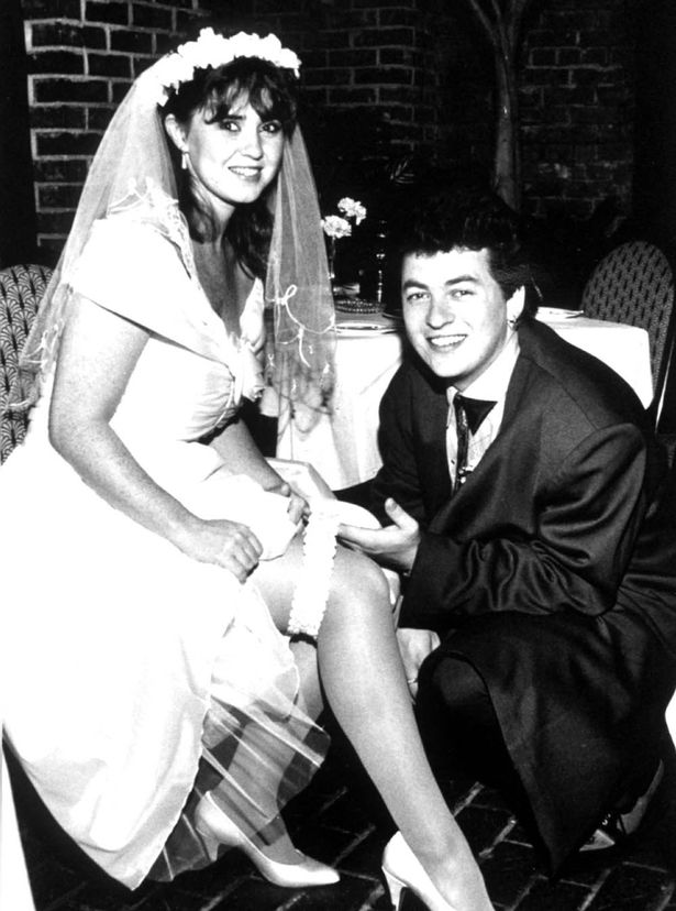 Shane Richie and Coleen Nolan tied the knot in 1990