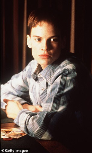 Awards: Hilary Swank won the Best Actress Oscar for her performance as transgender teen Brandon Teena in the 1999 movie Boys Don't Cry