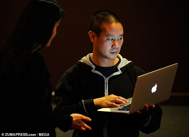 On Thursday, court documents obtained by Associated Press revealed that Hsieh, who was worth $840million, did not leave behind a will