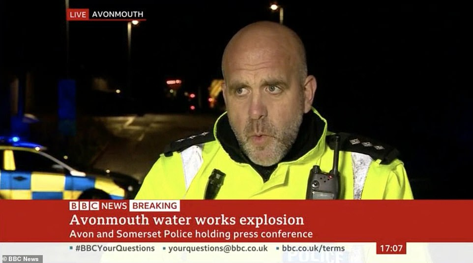 Chief Inspector Runacres said officers were staying on the scene and were likely to be there for some time as he urged the public to steer clear