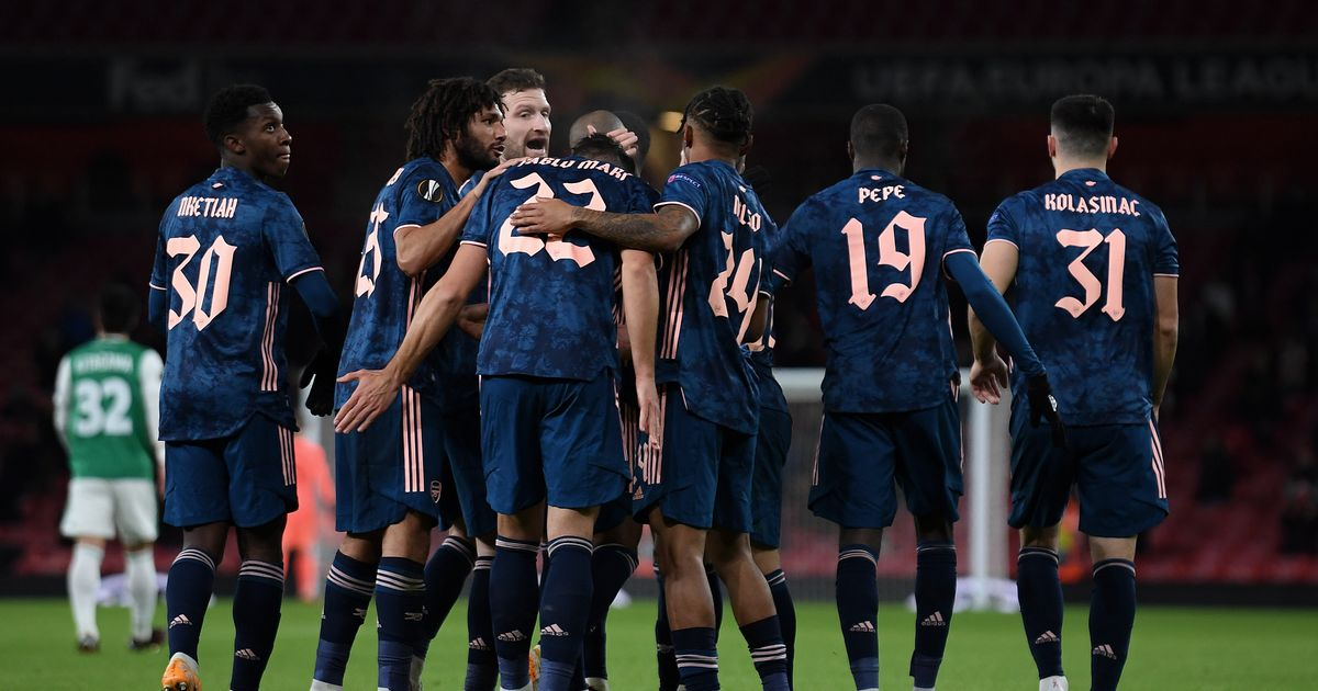 Why Arsenal are wearing third kit at home against Rapid Vienna