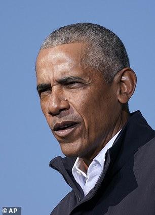 Pictured: Former U.S. President Barack Obama