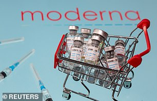 Pictured: Moderna Inc