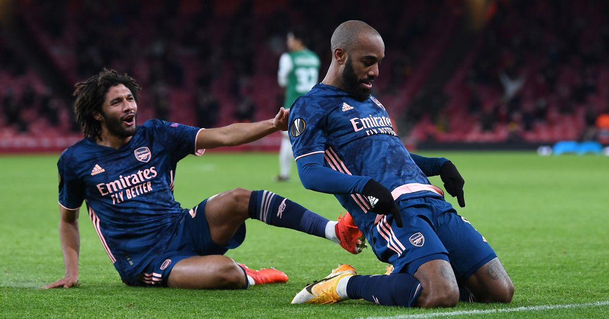 Alexandre Lacazette finds Arsenal hope in a new role but relies on Arteta belief