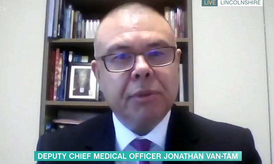 Deputy chief medical officer Jonathan Van-Tam suggesting the UK's critics were jealous of the speed at which the UK had moved