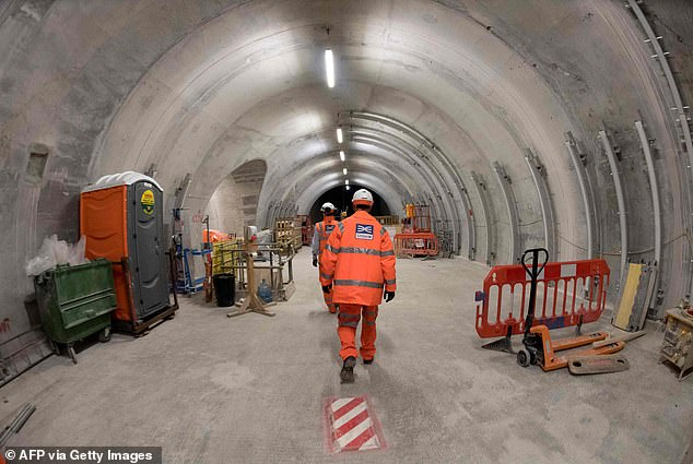 The news will stoke anger after it was revealed this week Crossrail was given an extra £825million to prevent the delayed project from being mothballed