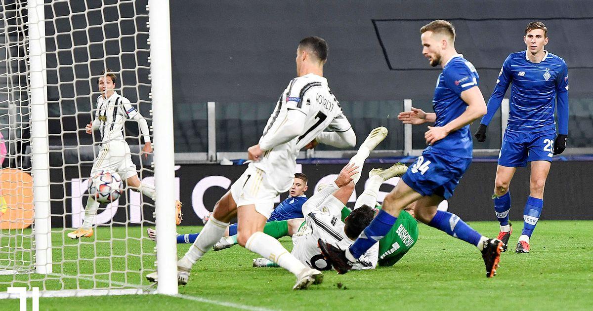 Morata's reaction to Cristiano Ronaldo 'stealing' his goal for landmark strike