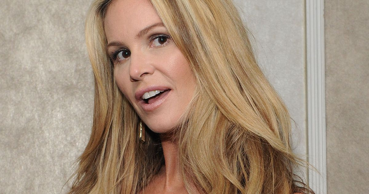 Elle Macpherson, 56, shows off her stunning model figure as she poses in jeans