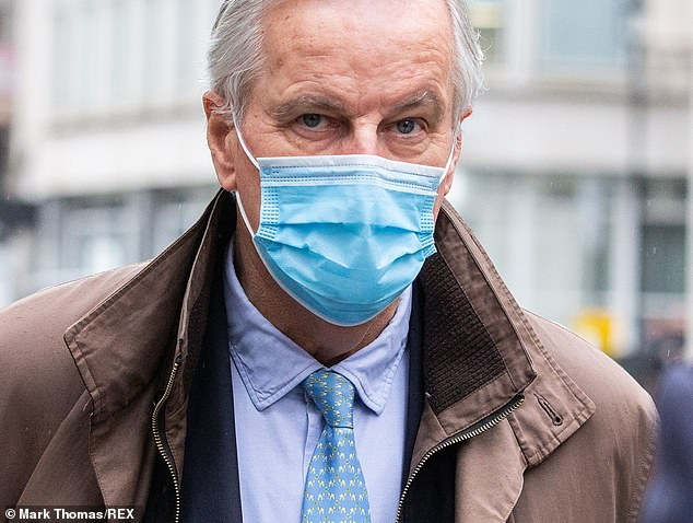 Last night, negotiations appear to have taken a dramatic turn for the worse, writes JOHN HUMPHRYS. Pictured:EU chief negotiatorMichel Barnier