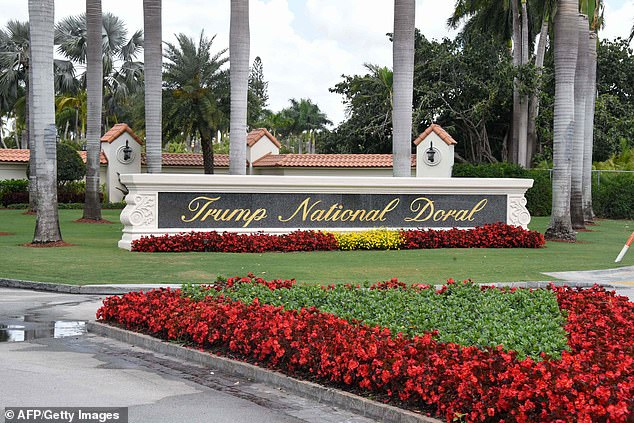 There were fundraisers at Doral in Miami