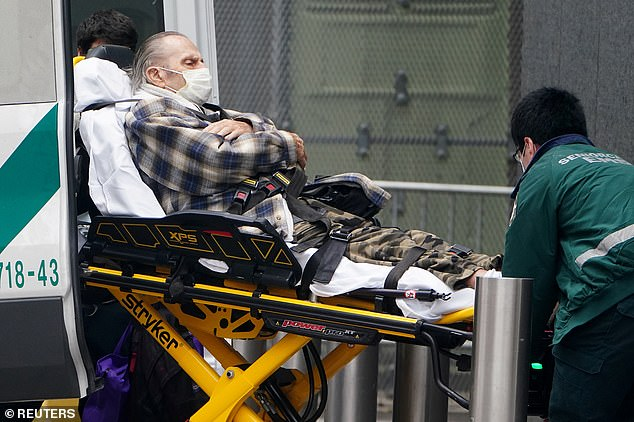New York City is suffering a surge in COVID-19 cases, in similar scenes playing out across the country