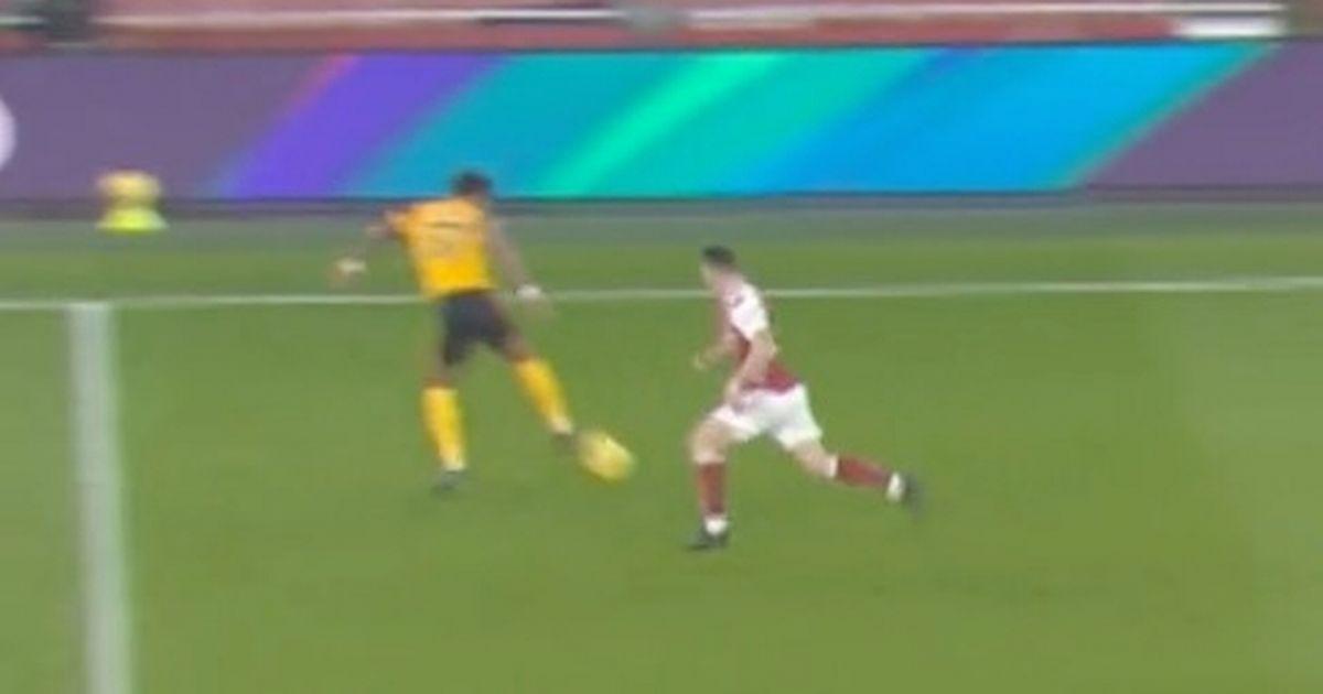 Wolves release savage TikTok video mocking Granit Xhaka after beating Arsenal