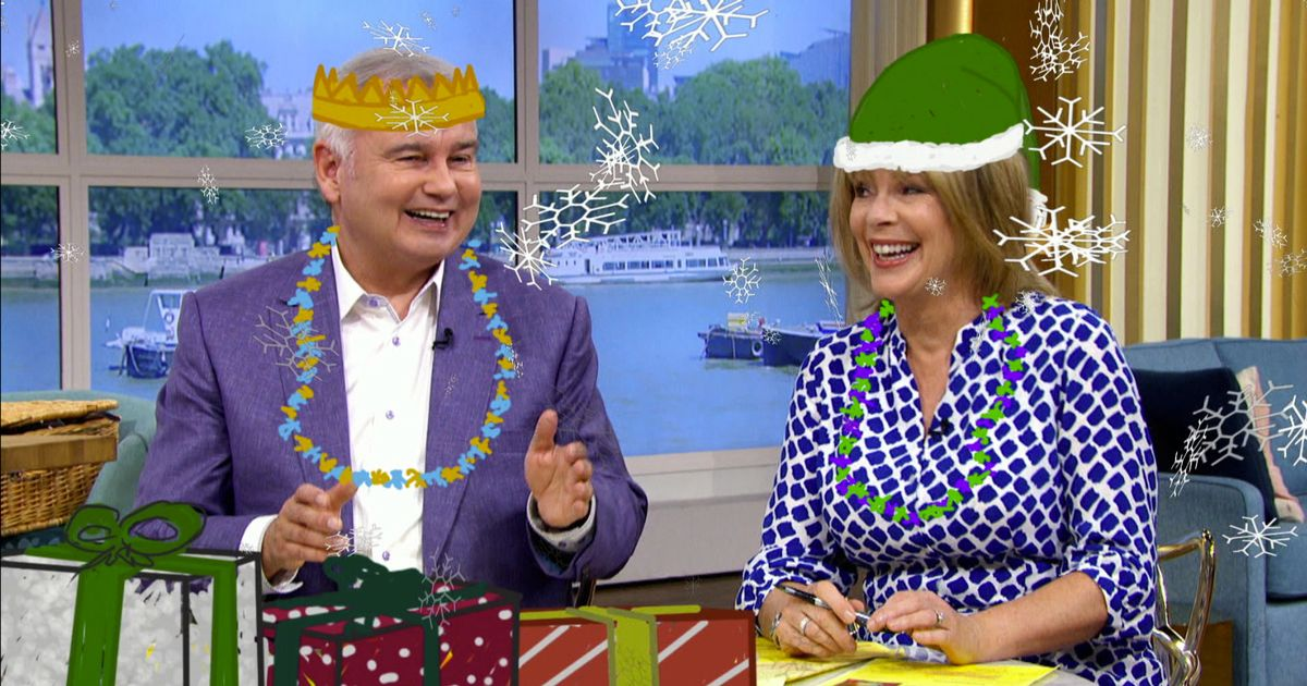 Eamonn and Ruth appear in ITV Christmas advert despite This Morning axe