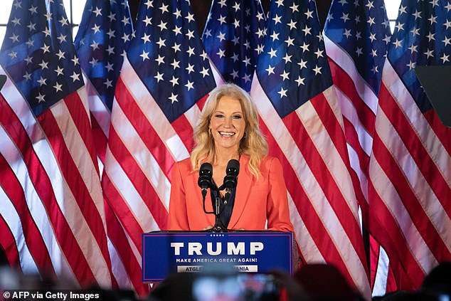 On Friday, one of Trump's most prominent supporters Kellyanne Conway acknowledged Joe Biden won the presidential election and said she would work with his administration if they needed her