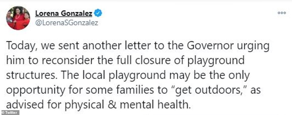 State lawmakers, including some from Newsom¿s own party, called on the governor to reconsider his move that would close public outdoor playgrounds, which would mostly impact poor and low-income children