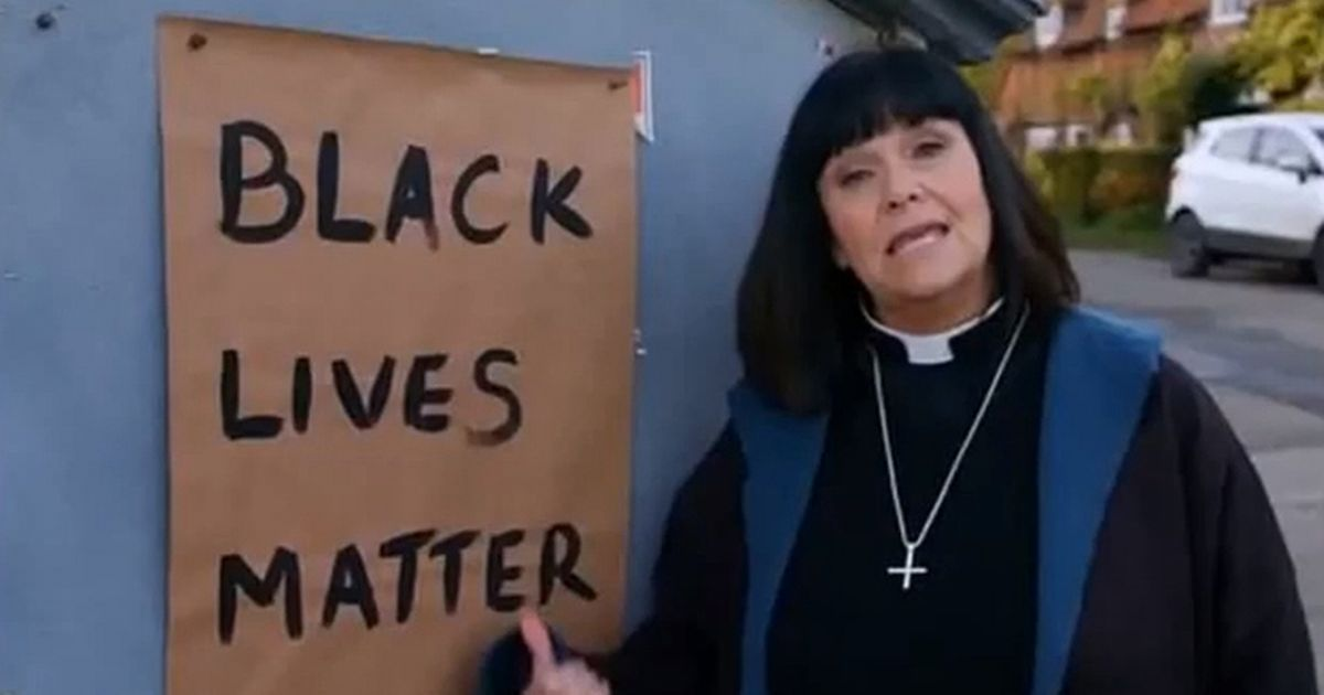 The Vicar of Dibley to mark Black Lives Matter with hard hitting sketch
